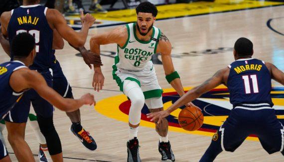 Fin de la serie The Nuggets, que colapsa ante los Celtics