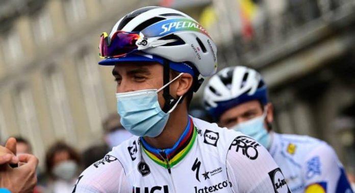 Antes del Tour de Francia, las Ardenas era el objetivo de Julian Alaphilippe
