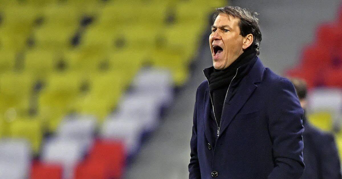 Copa de Francia.  OL: García enfrenta ausencias y un problema de estado de ánimo