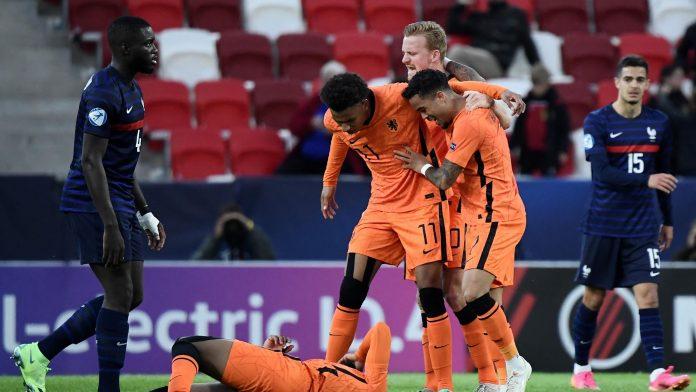 Campeonato de Europa Sub-21: El desastre: Francia perdió en cuartos de final con un gol de Holanda al final del partido