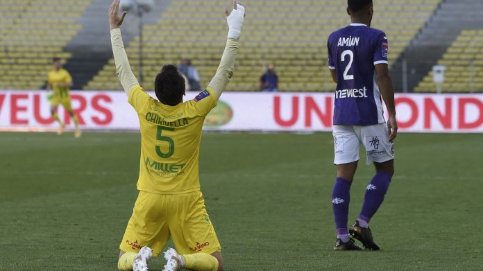 Nantes sigue en la Ligue 1 a pesar de perder ante Toulouse, que se mantuvo en la liga de la Ligue 1