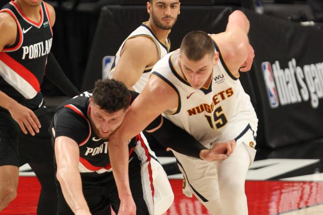 Portland empatado en poder contra Denver