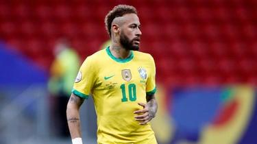 Neymar se ha convertido en el mejor jugador de pases de la historia de Brasil.