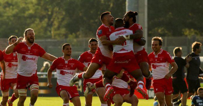 El ganador de la tanda de penaltis, Biarritz vuelve a la primera división y envía a Bayona al Pro D2