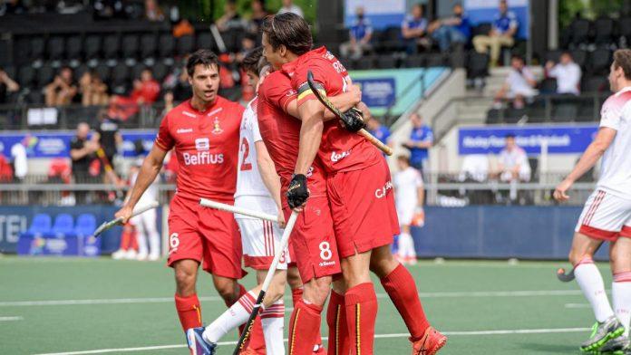 Euro de hockey: les Red Lions s'imposent face à l'Angleterre et s'offrent la médaille de bronze