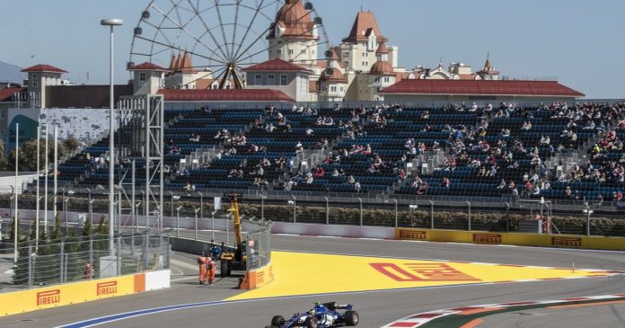 F1: San Petersburgo reemplazará a Sochi en 2023 - rts.ch - Auto