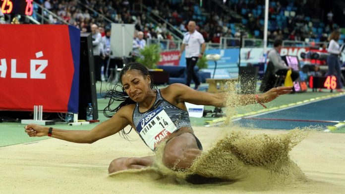 Titrée à Rio, l'heptathlonienne Nafissatou Thiam visera une deuxième médaille d'or. PHOTO ARCHIVES MATTHIEU BOTTE