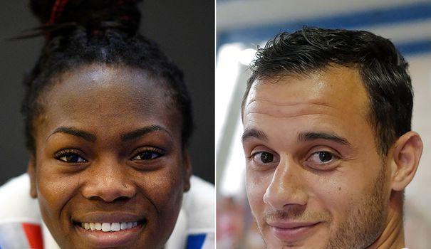 Juegos Olímpicos de Tokio: Agbegnenou y Aït Saïd, el primer dúo mixto elegido para llevar la bandera del blues