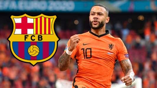 Depay presume de sus ambiciones con el Barcelona
