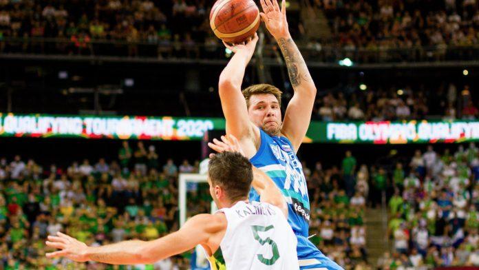 La estrella eslovena Luka Doncic a los Juegos Olímpicos