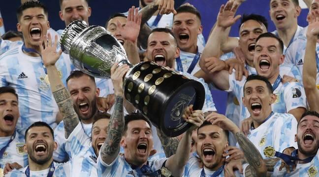 Lionel Messi finalmente ganó un trofeo con Argentina