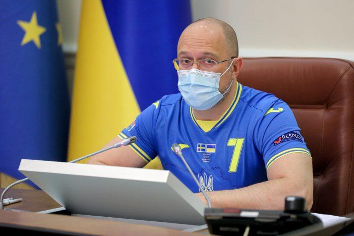 Los políticos ucranianos visten las camisetas de la selección nacional en la reunión |  CNEWS