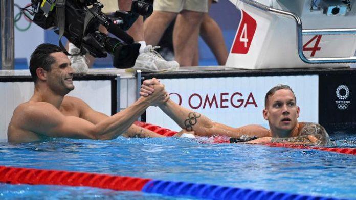 Florent Manaudou et Caeleb Dressel facilement qualifiés pour la suite de la compétition.