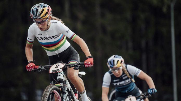 Pauline Ferrand-Privaux y Luana Lecomte, dos francesas que ruedan al volante por el oro en el ciclismo de montaña de fondo