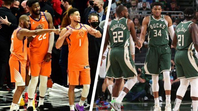 Qui pour le 75e titre de champion NBA, Phoenix ou Milwaukee?