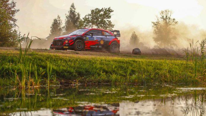Rallye d'Estonie: Ott Tänak abandonne, crevaison pour Thierry Neuville, 4e