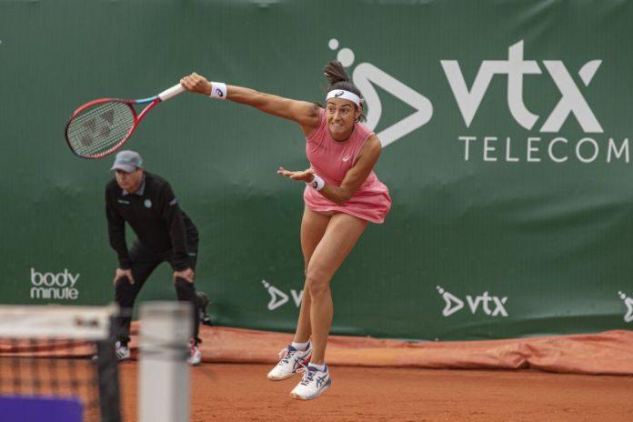 WTA - Lausanne - Ferro, Garcia et Burel regardent la pluie tomber...