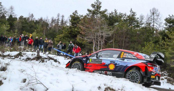 los autos.  El Rally de Montecarlo abrirá la temporada 2022 WRC el 23 de enero