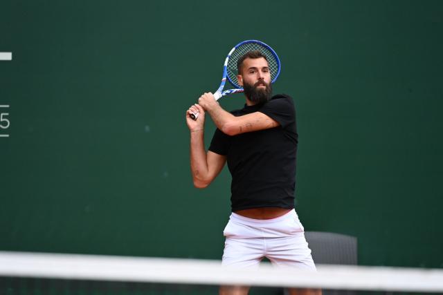Benoit Pierre despide a Miomir Kekmanovic para avanzar a la segunda ronda del Masters 1000 de Cincinnati