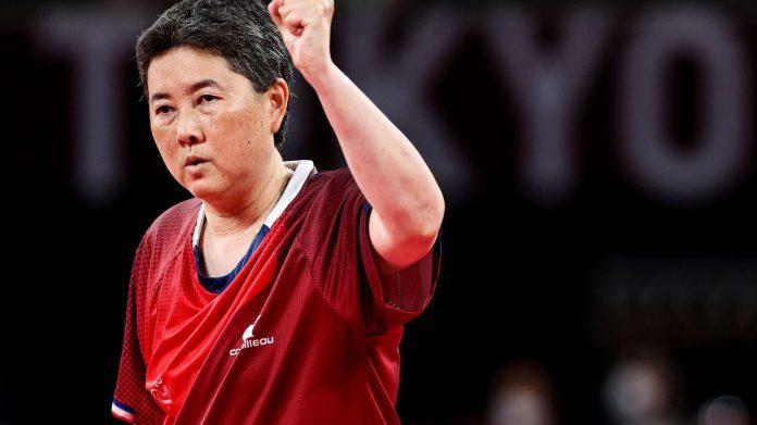 Con cuatro medallas de bronce y tres puestos en la final, Francia brilla en el tenis de mesa