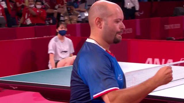 El francés Maxime Thomas ganó en 4 sets ante el turco Abdullah Ozturk, ganando el mismo metal que tenía en Río en 2016.
