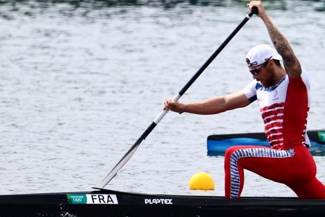 'El peor lugar de la historia' para Adrien Bart, que terminó cuarto en la C1 1000m en los Juegos Olímpicos de Tokio