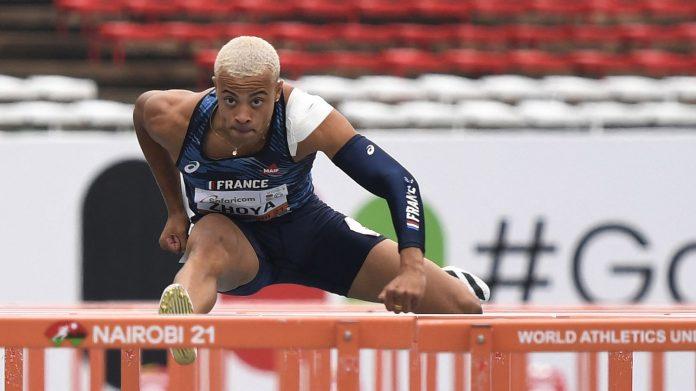 La francesa Sasha Chuya establece un nuevo récord mundial para juniors en los 110 metros con vallas