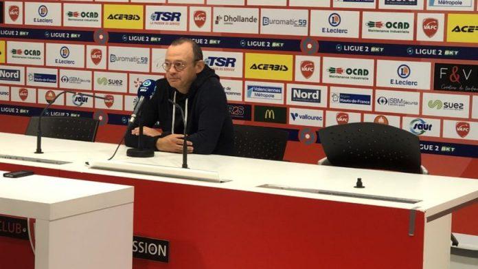Pascal Plancque en conférence de presse après Valenciennes-Nîmes (0-3)