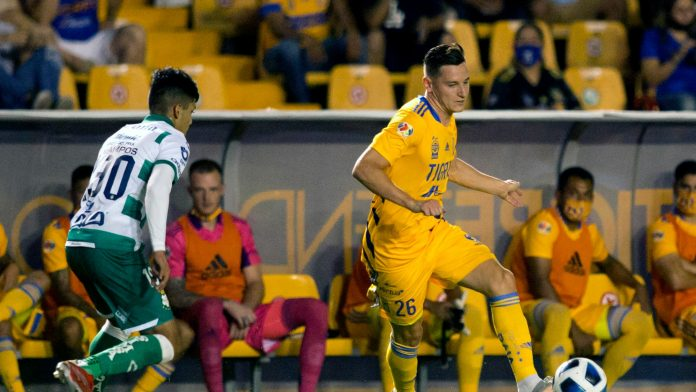Thoffen marca su primer gol con los Tigres