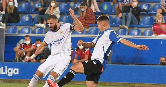 fútbol.  El Real Madrid, lucido por Benzema, empezó bien la temporada