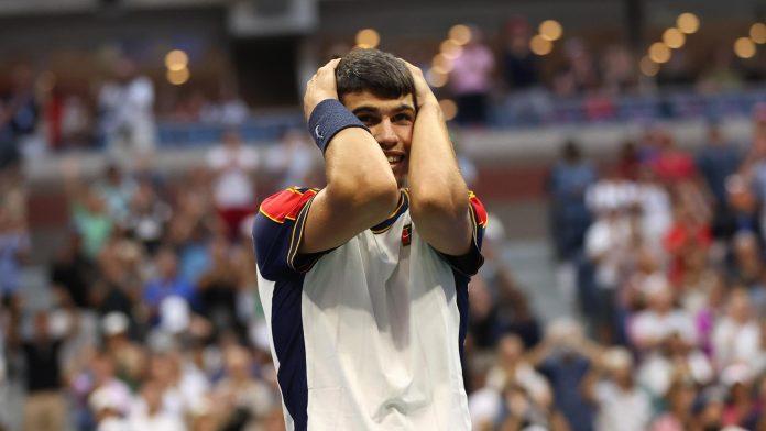 US Open 2021 - Carlos Alcaraz Stefanos Tsitsipas se retira en la tercera ronda después de un extraordinario partido en sets corridos
