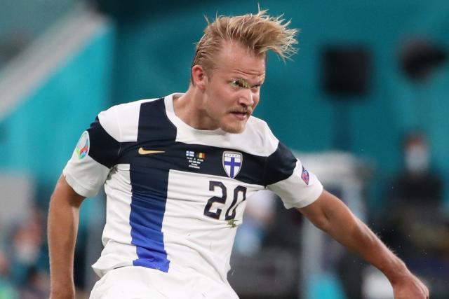 Finlandia ganó su primer partido de clasificación para la Copa del Mundo antes de regresar a Francia.