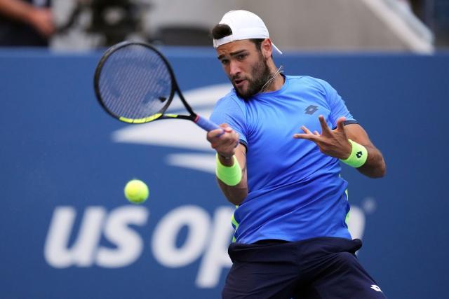 Matteo Berrettini en cuartos de final tras vencer a Oscar Otti