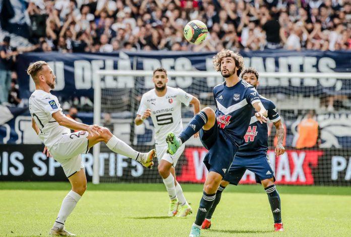 El Girondins dominó para arrebatarle un empate al Rennes (1-1)