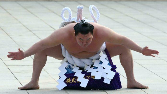 Japón: Hakuho, el gigante que batió récords de sumo