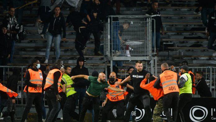 Ligue 1: Otro incidente con la afición, esta vez entre OM y Angers