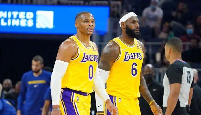 LeBron James et Russell Westbrook pour leur première NBA