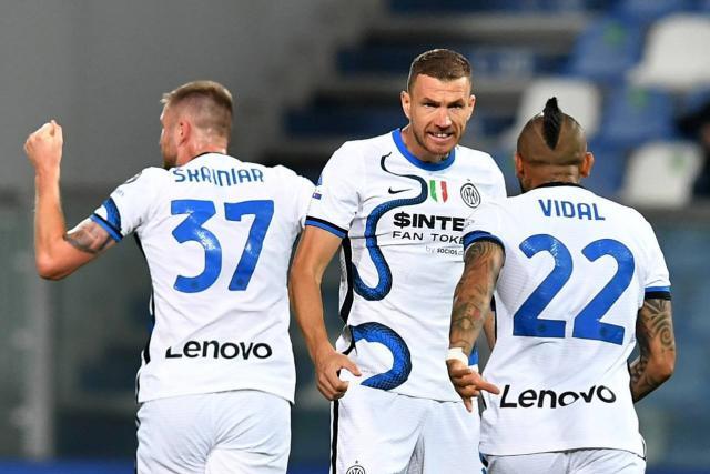 El Inter de Milán desbanca al atractivo Sassuolo en la Serie A italiana